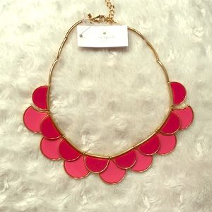 NWT Kate Spade Necklace - Two tone pink and gold